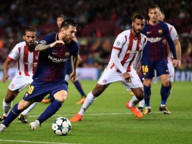 Histórico Messi y Barça perfecto