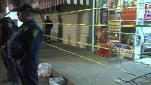 Jóvenes que bebían en vía pública desatan balacera en Santa María la Ribera
