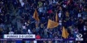 Pumas regresa a la senda de la victoria ante León