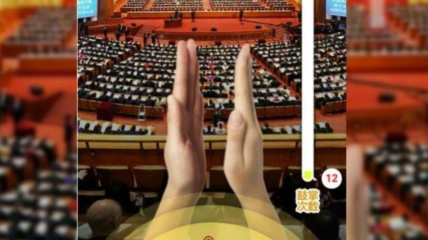 Chinos vuelven viral videojuego que reta a aplaudir discurso de Xi Jinping