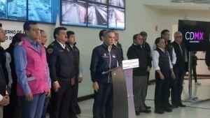 Mancera rinde homenaje a víctimas a un mes del sismo 19S