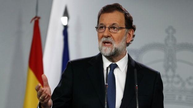 Rajoy pedirá cesar al presidente catalán y convocar elecciones regionales