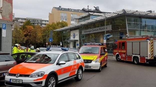 Hombre armado con cuchillo hiere a cinco personas en Múnich