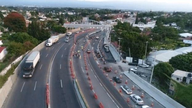 SCT abre a la circulación tramo del Paso Express en el sentido Acapulco-México