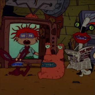 Cuando los bebés de 'Rugrats' conocieron a los monstruos