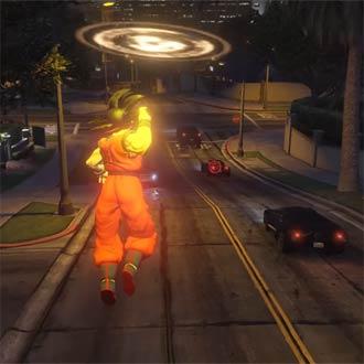 ¡'Gokú' destruyendo cosas en GTA 5 es lo más hermoso que verás hoy!