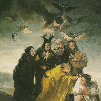 Miras las brujas de 'Dalí', 'Goya' y otros pintores