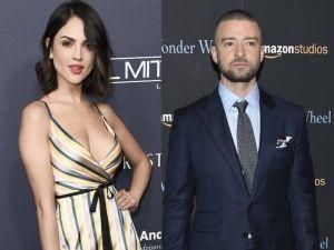 Justin Timberlake graba video junto a Eiza González