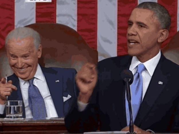 Obama desea feliz cumpleaños a Joe Biden con un gracioso meme