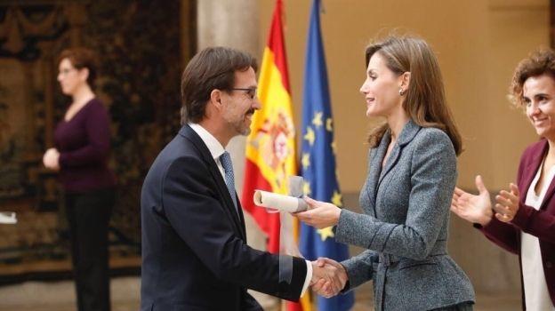 Fernando Landeros recibe Premio Reina Letizia