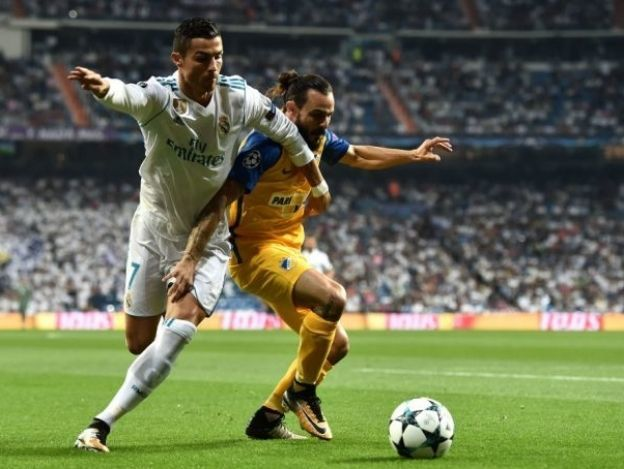 Real Madrid golea y avanza en la Champions