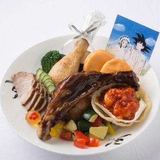 Restaurante hace platillos inspirados en 'Dragon Ball'