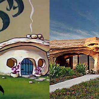 ¡Las casas de los dibujos animados sí existen y vas a querer tenerlas todas!