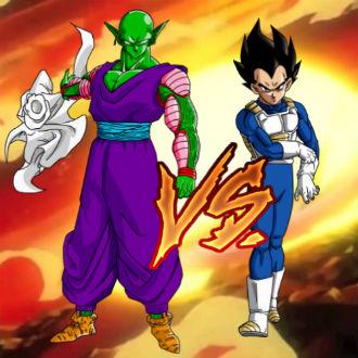 Pelea de insultos: Vegeta vs Piccolo