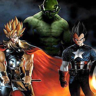 Así luce el tráiler de 'Los Vengadores' con 'Dragon Ball' y SÍ, ¡queremos algo así!