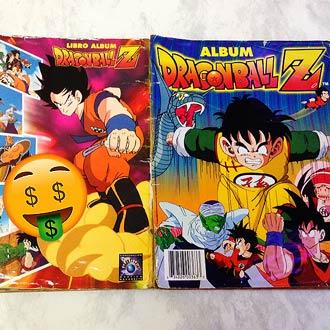 Esto cuesta ahora tu viejo álbum de 'Dragon Ball Z' ¿y ya te puedes volver rico?