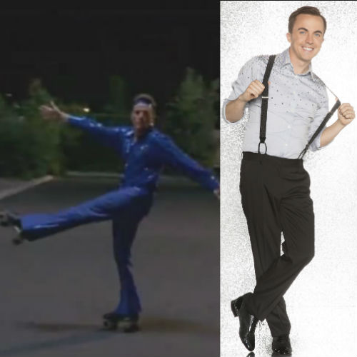 'Frankie Muniz' revivió los mejores bailes de 'Malcolm el de en medio'