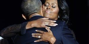 Michelle comparte foto del regalo que le dio Barack