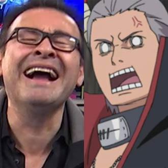 ¡Mario Castañeda recuerda grito de 'Hidan' en 'Naruto: Shippuden'!