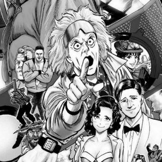 ¿Te imaginas un manga de 'Volver al Futuro'? ¡Pues ya es una realidad!