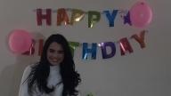 La producción de Sin tu mirada festejó el cumpleaños de Scarlet Gruber