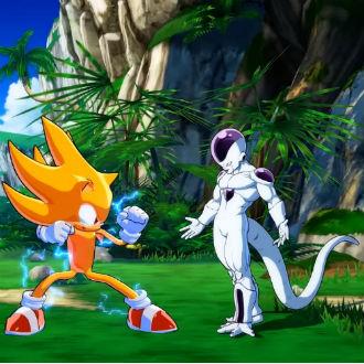 Metieron a Sonic en 'Dragon Ball FighterZ'