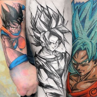 Tatuajes increíblemente poderosos de Dragon Ball