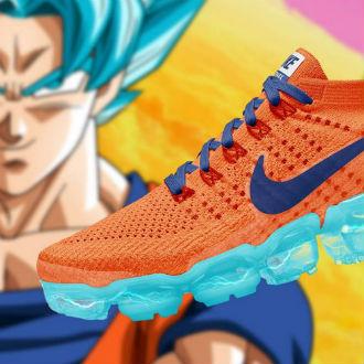 ¿Tenis de Dragon Ball hechos por Nike?
