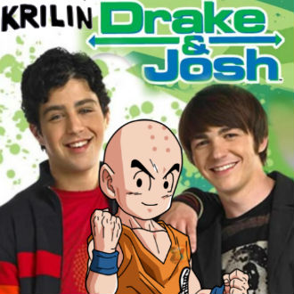 Crossover: Krillin visita 'Drake y Josh'