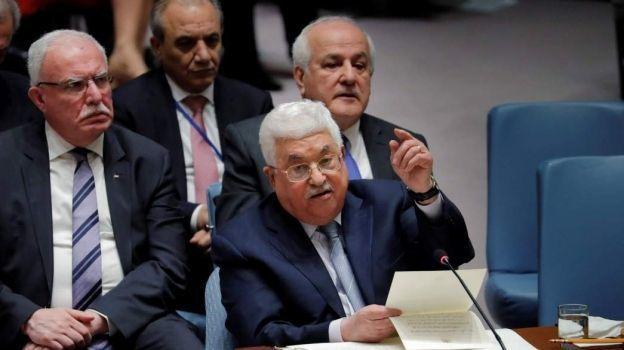 Hospitalizan en Estados Unidos al presidente palestino Mahmoud Abbas