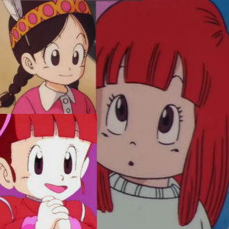Niñas que ayudaron y salvaron a Goku