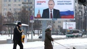 Putin pide a los rusos votar en elecciones presidenciales
