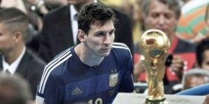 Lionel Messi sueña con levantar la Copa del Mundo