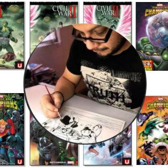 Paco Medina, el mexicano que triunfa en Marvel