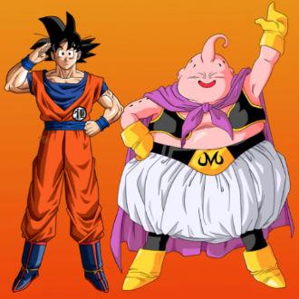 Políticos hacen cosplay de Goku y Majin Boo