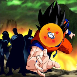 Así se vería Goku en un cómic de DC