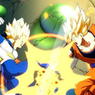 Mario Castañeda y René García juegan Dragon Ball Fighterz