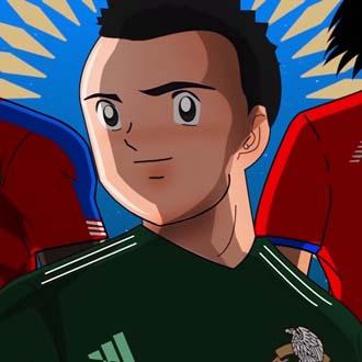 Opening estilo anime del Mundial