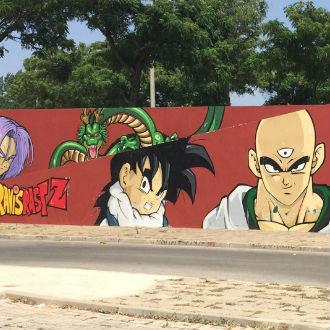 Los graffittis más geniales de Dragon Ball
