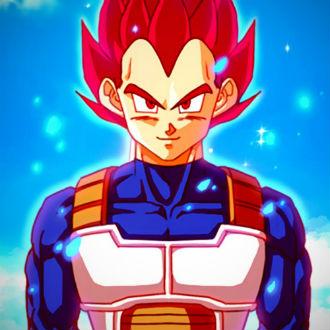 Personajes de 'Dragon Ball' transformados en súper saiyajin