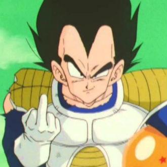 Personajes de 'Dragon Ball' que hicieron 'dedo'