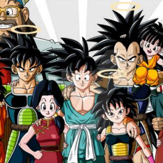 Árbol genealógico de Goku