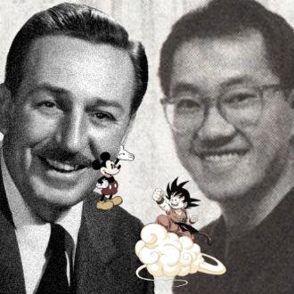 ¿Qué tiene que ver 'Walt Disney' con 'Dragon Ball'?
