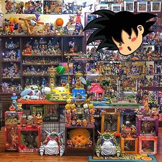 ¿Serán ellos los más grandes coleccionistas de 'Dragon Ball'?