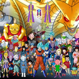 Los personajes más poderosos de Dragon Ball Super