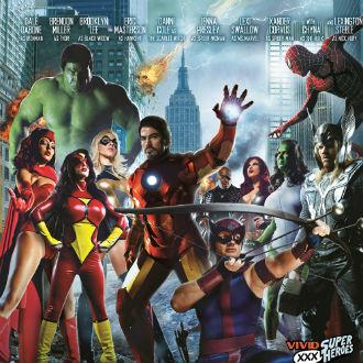 Versiones porno de los Avengers y otros superhéroes
