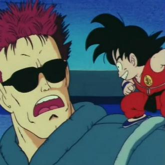 Cuando ''Terminator'' apareció en Dragon Ball