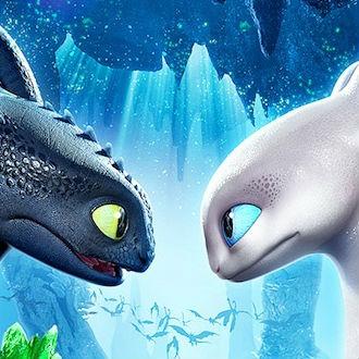 Este es el póster de la siguiente Cómo Entrenar a tu Dragón
