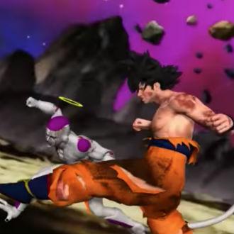 ¡Mira la pelea contra Jiren en 3D!