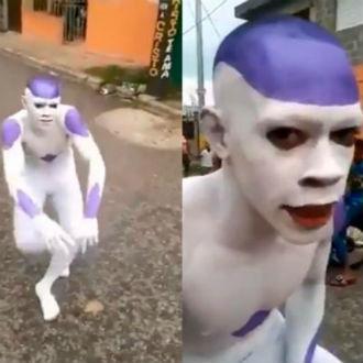 Video: Tienes que ver el baile viral del Freezer brasileño
